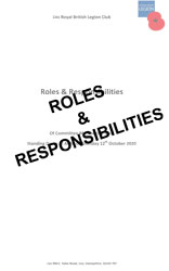 Liss RBLC Roles & Responsibilities