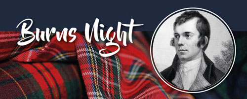 Burns Night Supper – Friday 24th January
